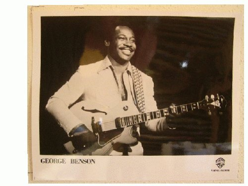 George Benson Press Kit and Photo Breezin