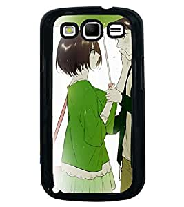Printvisa Romantic Couple On A Rainy Day Back Case Cover for Samsung Galaxy S3 Neo::Samsung Galaxy S3 Neo i9300i