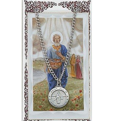 Pewter St. Phillip Medal & 24