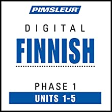 Finnish Phase 1, Unit 01-05: Learn to Speak and Understand Finnish with Pimsleur Language Programs Audiobook by  Pimsleur Narrated by  Pimsleur