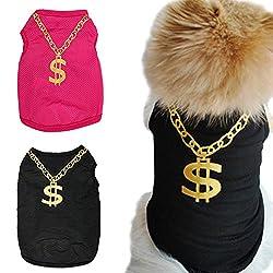 Chnli Summer Dog Cat Pet Clothes Soft Sweater Hoodie Jumpsuit Coat Outwear T-Shirt Apparel Vest
