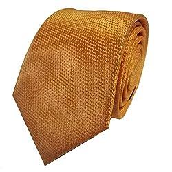 Rossini Men's Tie (UFAM48_Yellow_Free Size)