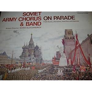 Soviet Army Chorus and Band on Parade: Folk Music