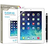 Ipad Screen Protector for Apple iPad 4/3/2 and iPad with Retina Display (NOT for Ipad Air and Ipad 5) Sentey® Clear Hd High Definition Tablet Ls-14112 Bundle with Free Metal Stylus Touch Screen Pen {Lifetime Warranty} Screen Protector Ipad 3-4 - Ipad Screen Protector Hd - Hd Clear Ipad Screen