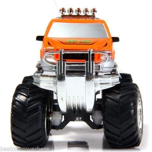 8013D Big Wheel RC Off-road Car SUV Electric ORV Vehicle Model Toy Orange (Shrek Costume Ideas)