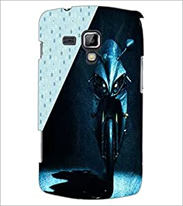 PrintDhaba Bike D-5841 Back Case Cover for SAMSUNG GALAXY S DUOS 2 S7582 (Multi-Coloured)