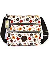 GFM Nylon Shower/Rainproof Cross Body Bag for Holidays or Everyday Casual Use.