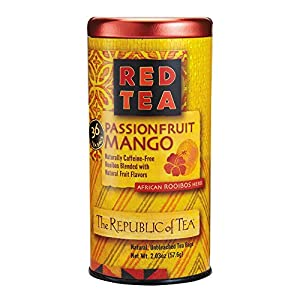 Passionfruit Mango Red Tea by The Republic of Tea - 36 tea bags