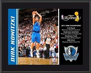 Dirk Nowitzki Plaque | Details: Dallas Mavericks, 2011 NBA Champions, Sublimated,... by Mounted Memories
