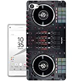 565 Dj Mixer Controller Cool MUSIC DJ Clubing Design Sony Xperia Z5 Compact Mini Fashion Trend CASE Gel Rubber Silicone All Edges Protection Case Cover