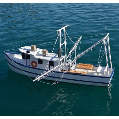 Dumas 1271 Rusty the Shrimp Boat Kit 36