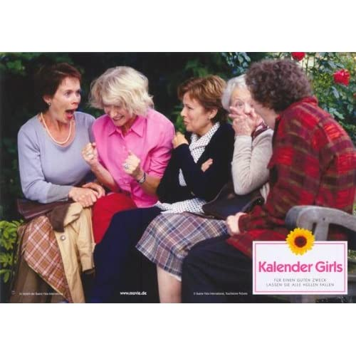 Calendar Girls Poster Movie German 11x14 John Alderton Linda Bassett