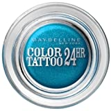 Maybelline Colour Tattoo 24 Hour Eye Shadow, Turquoise Forever Number 20