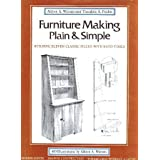 Furniture Making Plain And Simpleby Adlren Watson