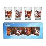Zrike 4011739 Disney Juice Glasses Grumpy Set Of 4