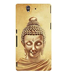 Lord Buddha Design Cute Fashion 3D Hard Polycarbonate Designer Back Case Cover for Sony Xperia Z :: Sony Xperia C6603 :: Sony Xperia C6602 :: Sony Xperia Z LTE, Sony Xperia Z HSPA+
