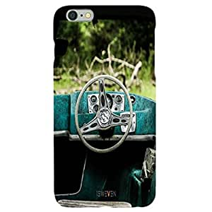 iSweven i216 Luxurious Printed high Quality Steering Back case cover for Apple iphone 6 plus, 6s plus