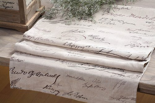 Shabby Cottage Chic French Linen Table Runner Decor Review