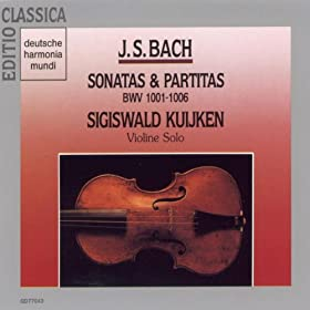 Partita for Solo Violin No. 3 in E major, BWV 1006: Giga