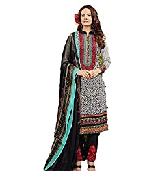 Bhavya Collection Women's Cotton Unstitched Dress Material (BC02_MultiColour_Free Size)