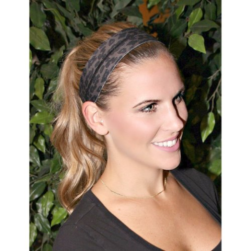 RAVEbandz No Slip Silicone Lined Sports & Fitness Athletic Womens Headbands