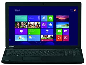 Toshiba Satellite C50-A-1DL 39,6 cm (15,6 Zoll) Notebook (Intel Core i3-3110M, 2,4GHz, 4GB RAM, 500GB HDD, Intel HD 4000, DVD, Win 8.1) schwarz