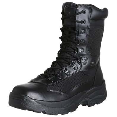 """Rocky Duty Men's Fort Hood 8"""" Side Zip Boot,Black,7 M"""