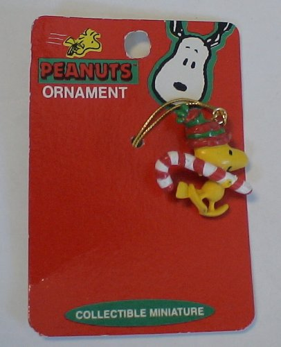 Peanuts Woodstock Vintage Miniature Christmas Ornament