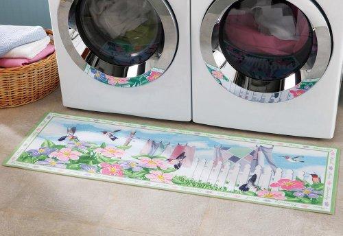 Cheap Hummingbird Laundry Room Runner Rug By Winston Brands