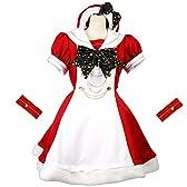 【8mm】 ミラクルスター ホーリーガール ワンピース クリスマス衣装 (Mサイズ)