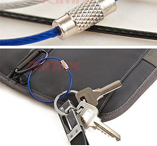 Aircraft Cable Accessories : Yansanido key ring keychain aircraft cable wire stainless