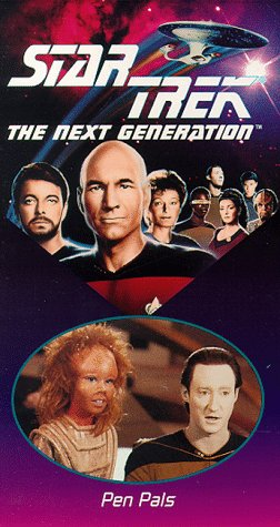 Star Trek - The Next Generation, Episode 41: Pen Pals [VHS]