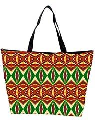 Snoogg Colorful Pattern Amazed Designer Waterproof Bag Made Of High Strength Nylon - B01I1KM01M