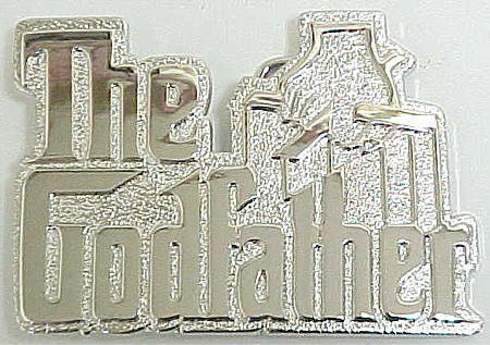 Buy The Godfather Movie Logo Chrome Belt Buckle Mafia
