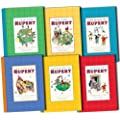 Rupert Bear Collectors Albums Collection 6 Books Set Pack RRP: �89.94 (Friends of Rupert, The World of Rupert, Adventures of Rupert, The Magic of Rupert, Fun With Rupert, A Year with Rupert)