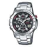 Casio WVQ-550DE-1AVER Wave-Ceptor Chronograph Watchby Casio