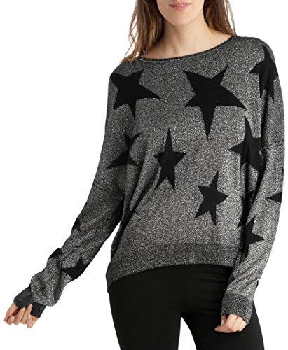 BDBA Sweater, Felpa Donna, Nero, 44