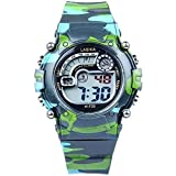 Hiwatch TM Waterproof 30M Outdoor with Alarm WOODLAND CAMO Digital Wrist Watches