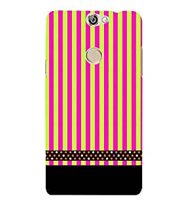 Lines Pattern Black 3D Hard Polycarbonate Designer Back Case Cover for Coolpad Max A-8
