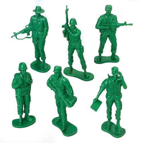 US Toy Company 7958 Large Soldiers,(1 Dozen)