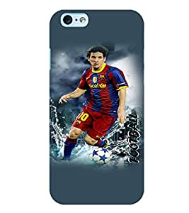 PrintVisa Sports Football 3D Hard Polycarbonate Designer Back Case Cover for Apple iPhone 6 Plus
