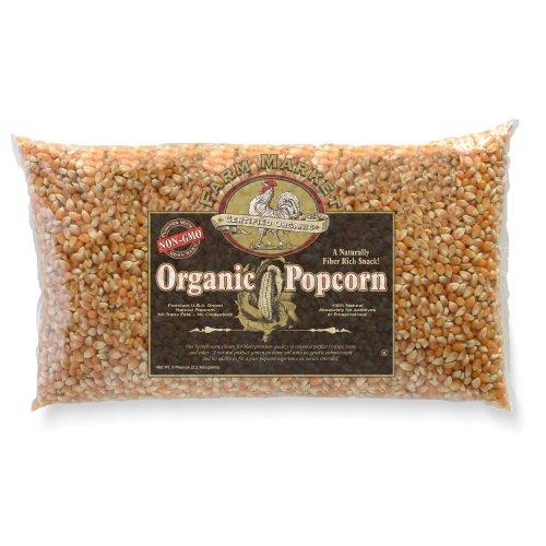 Great Northern Organic Yellow Gourmet Popcorn--5 Pounds