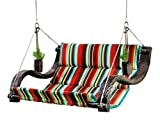 Outback Urban Balance Hanging Expanse Chair with Cup Holders, Stripe