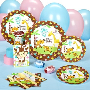 Fisher Price Baby Shower Standard Party Kit For 16 front-514073