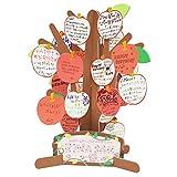 アルタ メッセージツリー色紙 AR0819013 リンゴ レッド