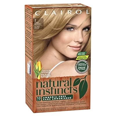 Clairol Natural Instincts, Semi-Permanent Hair Color, Blondes, 1 Kit