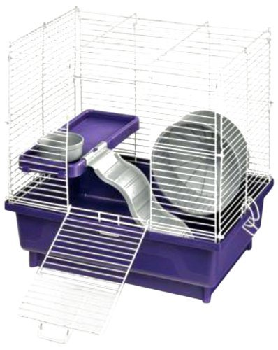 Kaytee My First Home Habitat for Hamster, 2-Story, 14 by 10-Inch 51B7aAvVkoL