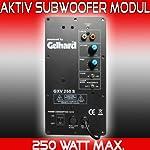 Gelhard GXV250 AKTIV SUBWOOFER MODUL - 250WATT MAX - 130WATT RMS