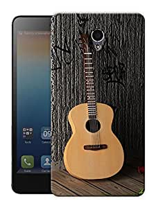 "Guitar And Roses - Music And Love Printed Designer Mobile Back Cover For ""Lenovo S860"" By Humor Gang (3D, Matte Finish, Premium Quality, Protective Snap On Slim Hard Phone Case, Multi Color)"