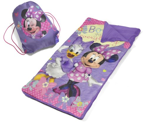 Disney-Minnie-Mouse-Slumber-Bag-Set